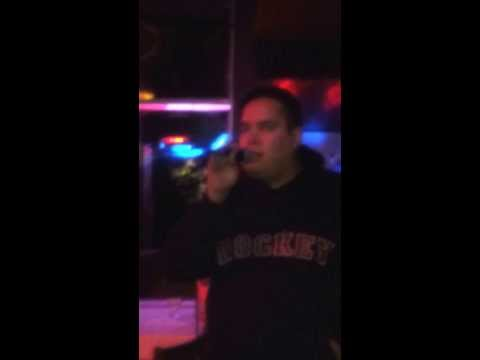 Edgewater Bar - Karaoke - Oct 11 (Angel by Shaggy ft. Rayvon)