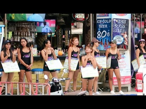 Bangla Road in the Daytime – Phuket, Thailand