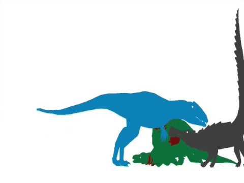 ASDC -  Eocarcharia vs Kaprosuchus