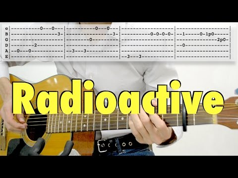 Imagine Dragons - Radioactive (fingerstyle, tab, acoustic cover)