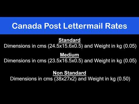 Canada Post Lettermail Rates Using WooCommerce Canada Post Shipping Plugin..!