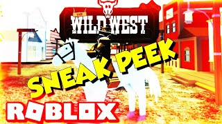 Roblox Wild West (If Jailbreak And Red Dead Redemption Were Mixed ) Early Access