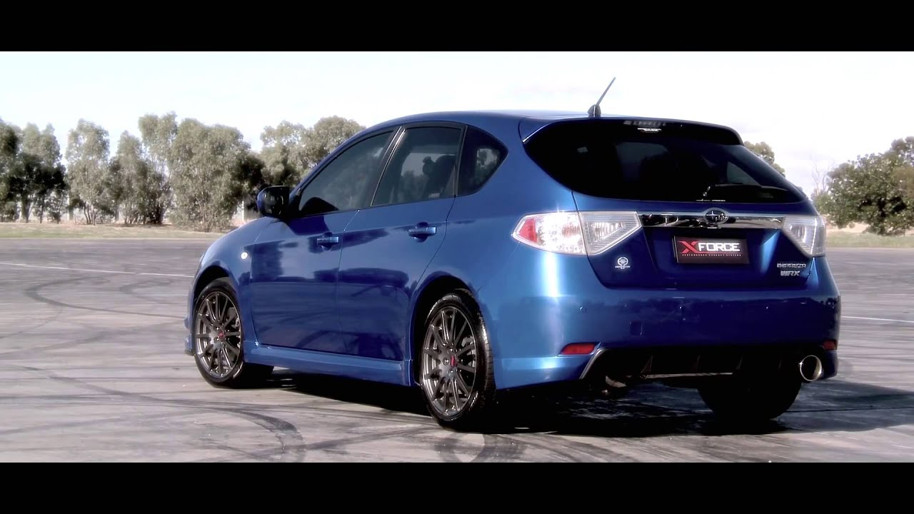 XForce Exhaust Systems for Subaru WRX HATCH 2008 2011