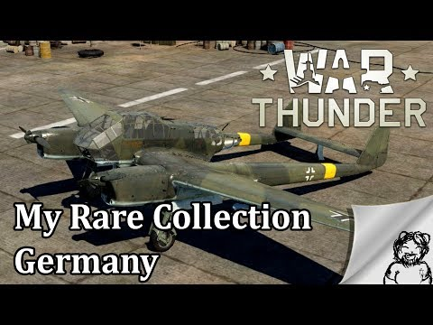War Thunder - My Rare Collection - Germany