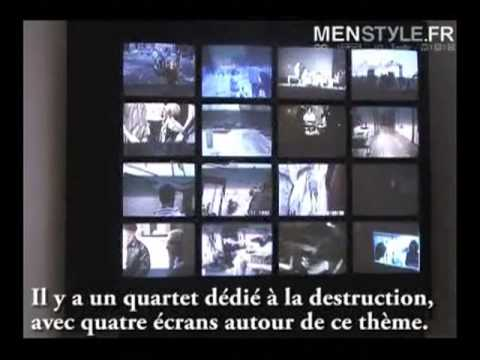 Amazing Jonas Mekas Paris Gallery Show