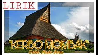 Download Kerbo Mombak - Datuk Muda Barus (Lirik) Mp3