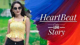 Heartbeat  Cute Romantic Love Story  Navdeep Singh  Latest Punjabi Song 2019
