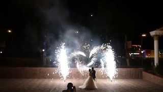 Фейерверк на свадьбу в Самаре и Тольятти