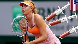 Maria Sharapova fails drug test: Sharapova admits to Lance Armstronging for the past decade