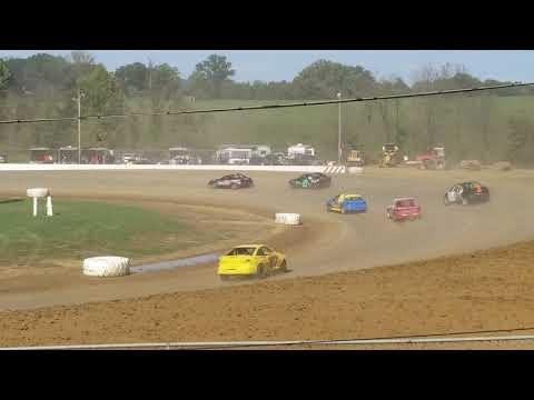 Brownstown Speedway Funfest hornet heat 2 10-13-18