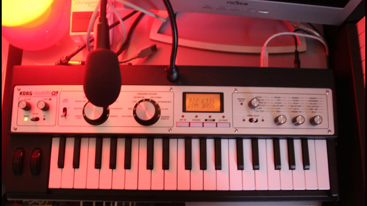 Korg Microkorg XL/XL+_130 New Patches/Sounds!!