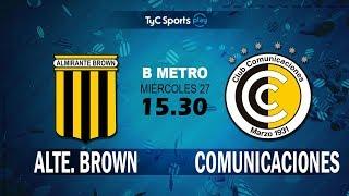 Almirante Brown vs CSD Comunicaciones full match
