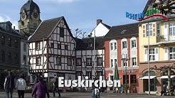 Euskirchen Red Highlighted Map North Rhine Stockillustration