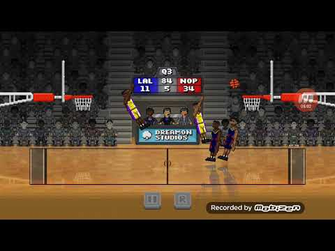 Bouncy basketball playoff series round 1: lakers vs pelicans
