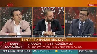 Ahmet Kasım Han ve Yalın Alpay ile Yüz Yüze 30 Mayıs 2019 (İstanbul seçimi ve seçmeni)