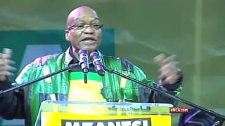 Zuma thanks those who put the ANC back in power