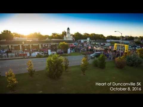 Heart of Duncanville 5K Time-lapse