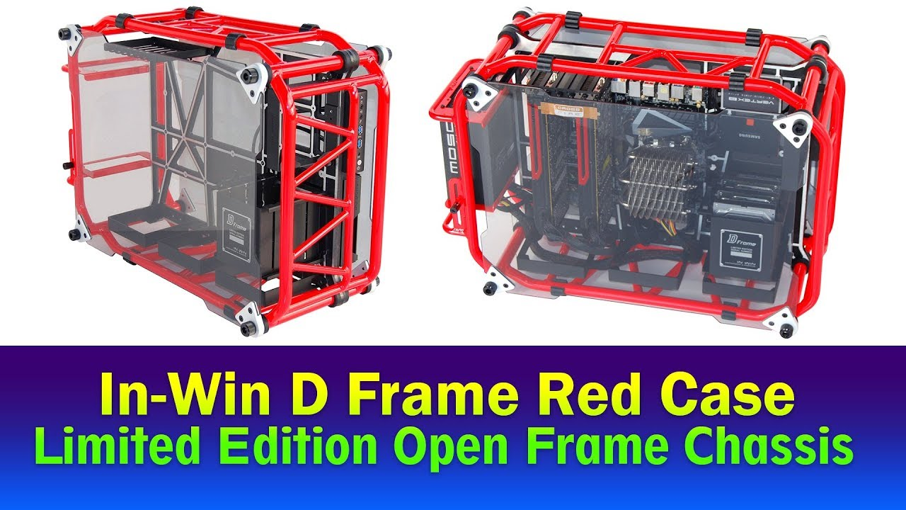 In-Win D Frame Red Case - YouTube