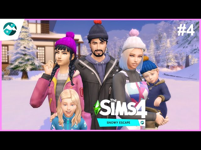 Irány a hegycsúcs #4 | The Sims 4: Snowy Escape Expansion Pack