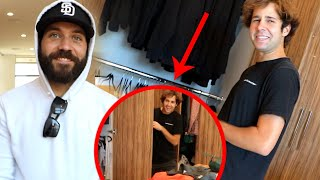HIDING MYSTERY GIFT IN HIS CLOSET! (heart warming)