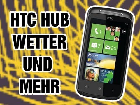 HTC 7 Mozart: HTC Hub