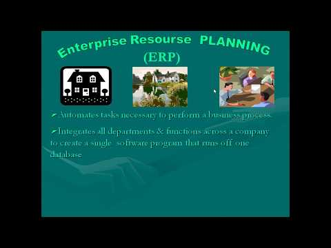 INTRODUCTION TO ENTERPRISE RESOURCE PLANNING ERP IN HINDI