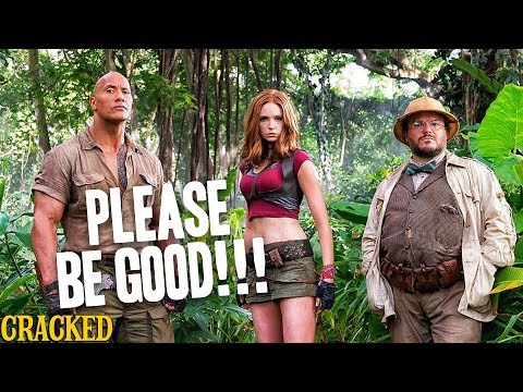 Please Be Good Jumanji: Welcome To The Jungle - Cracked Responds to the Jumanji 2 Trailer