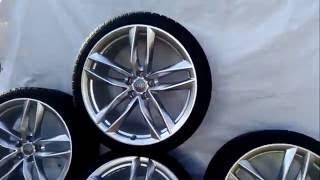 оригинальные колесные  диски с шинами для Audi RS6 C7 New R21  Новые(Эксклюзивные оригинальные колесные диски с шинами для Audi RS6 C7 New R21. Новые. Дизайн 5 двойных спиц. № детали..., 2016-05-27T12:15:27.000Z)