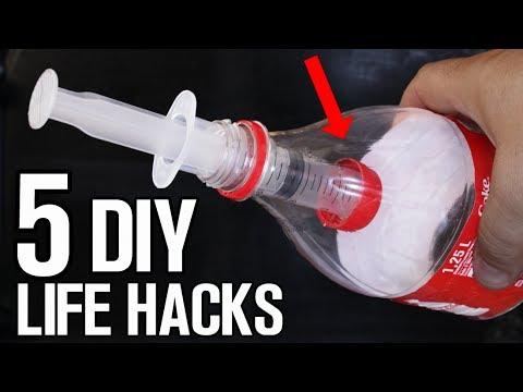 5 Homemade inventions - DIY Life Hacks & Ideas