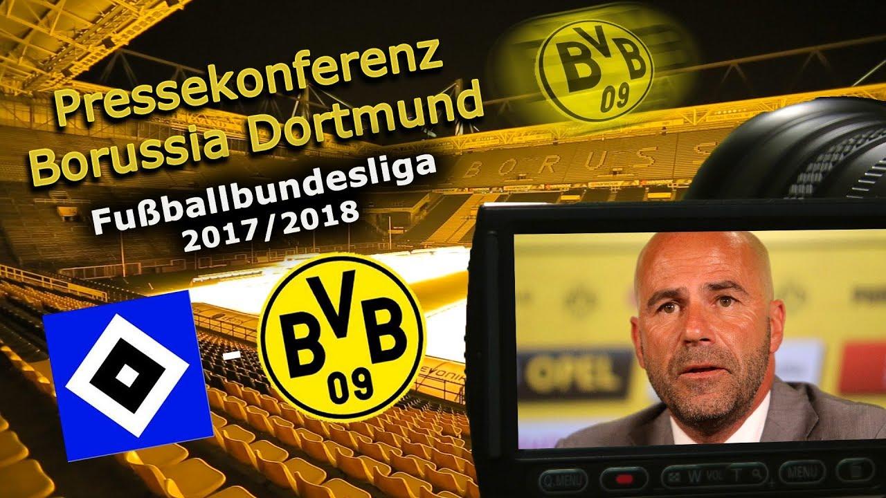 Hamburger SV - Borussia Dortmund: Pk mit Peter Bosz