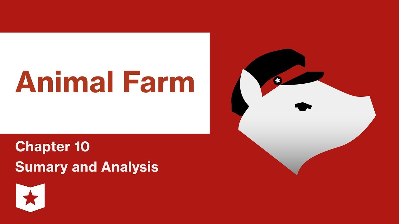 animal farm by george orwell analysis Plot summary of animal farm by george orwell part of a free study guide by bookragscom.