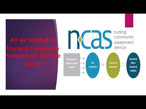 Nursing Community Assessment Services (NCAS): CBA/SLA/OA Well Explained