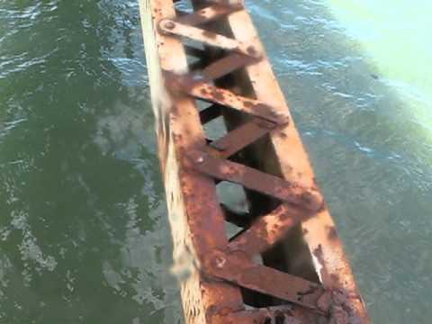 The Rusty Underside of the Long Island Bridge - Boston Harbor