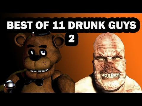 Best of 11 drunk guys play slender man for free