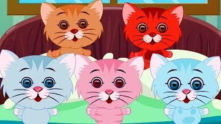 five little kittens | three little kittens | nursery rhymes | kids songs | kittens song