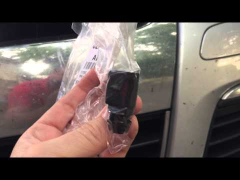 How to change the ambient air sensor on a 2005 VW Jetta.