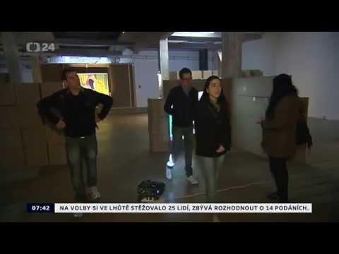 Prague Alternative Tour presented in Czech Television - Studio 6 News