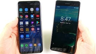 Galaxy S8 Plus vs Nokia 6 Speed Test!