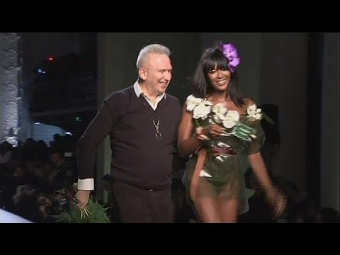 "French fashion ""enfant terrible"" Jean-Paul Gaultier has fun in Paris - le mag"