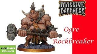 Massive Darkness Painting: Ogre Rockbreaker