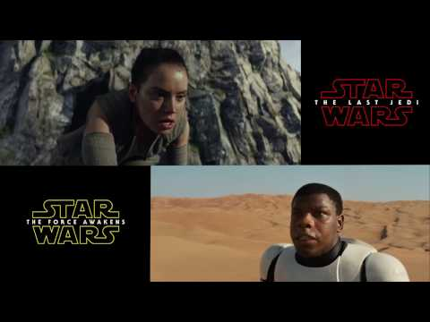Thumbnail: Star Wars Episode 7 & 8 Teaser Trailer Comparison