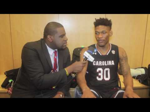 2017 NCAA Tournament: Chris Silva interview (South Carolina; 03.24.17)