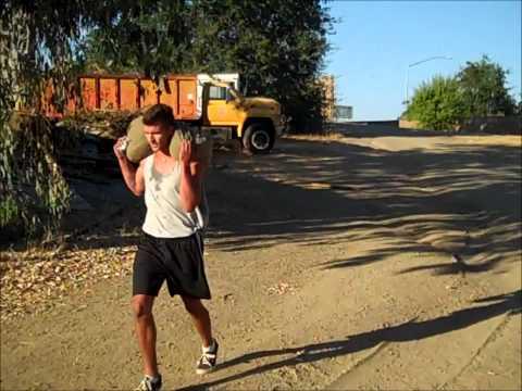 TOUGHNESS FINISHER - Sandbag run