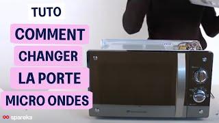 Remplacer la porte de votre micro-ondes ?