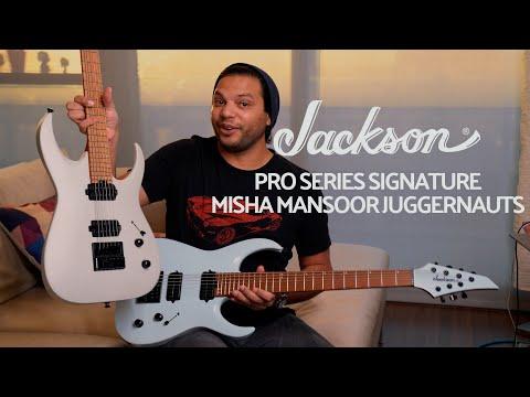 Periphery's Misha Mansoor Showcases his New Jackson® Pro Juggernaut ET6 and ET7 Models