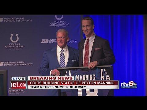 WATCH: Peyton Manning and Jim Irsay Press Conference