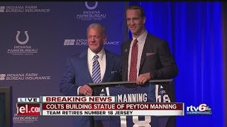 WATCH: Peyton Manning and Jim Irsay Press Conference