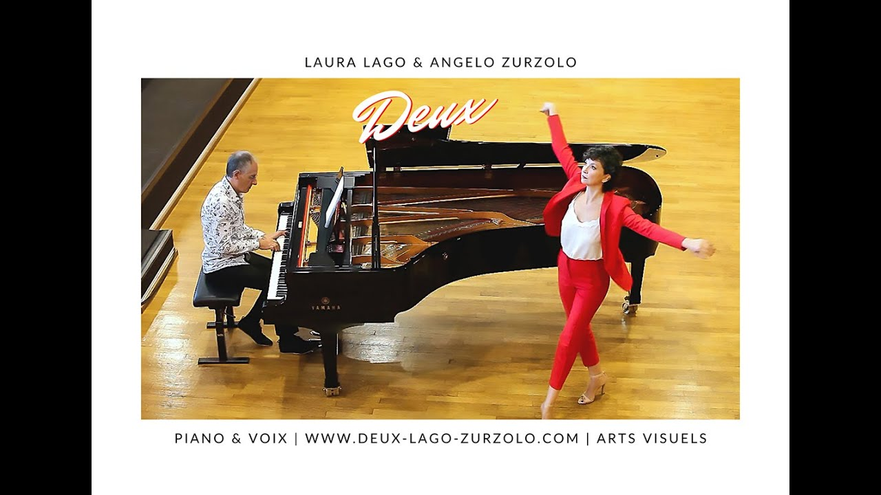 DEUX Laura Lago & Angelo Zurzolo. Piano/ Voix. Expo/ Concert-  Téaser
