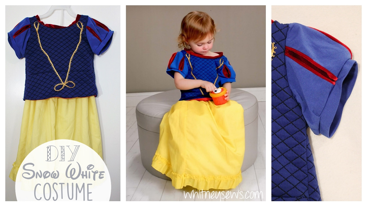 Snow White Costume | DIY Inspiration | Whitney Sews : snow white costume diy  - Germanpascual.Com
