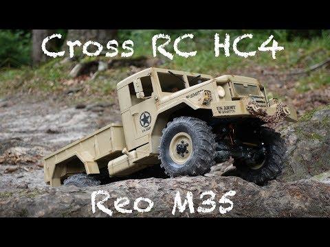 Cross RC HC4 Reo M35 hits the trails